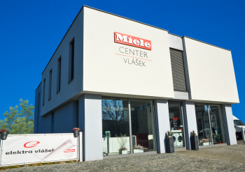 Nový showroom Miele!