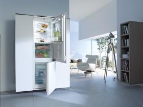 Vestavné chladničky s mrazničkou