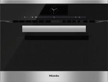 Pečicí trouba s mikrovlnou MIELE H 6800 BM Nerez CleanSteal