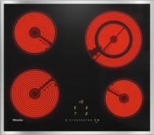 Sklokeramická deska Miele KM 6520 FR nerezový rámeček