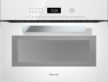 Pečicí trouba s mikrovlnou MIELE H 6401 BM Briliantová bílá