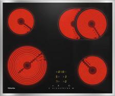 Sklokeramická deska Miele KM 6540 FR nerezový rámeček