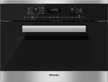 Vestavná mikrovlnná trouba MIELE M 6260 TC Nerez CleanSteel