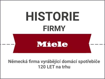 Historie společnosti Miele v infografice