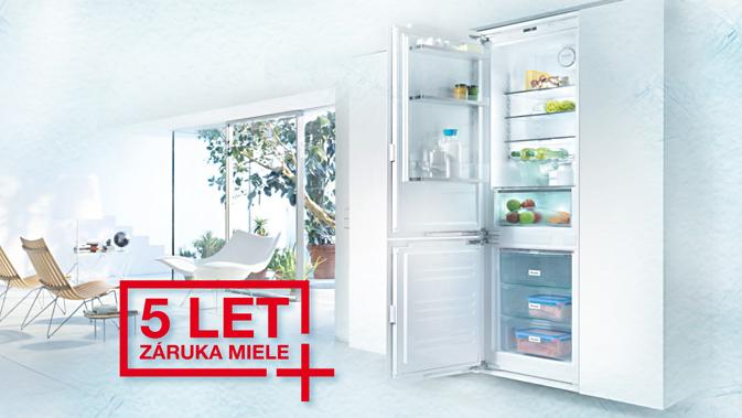 5 let záruka na chladničky, mrazničky a vinotéky MIELE