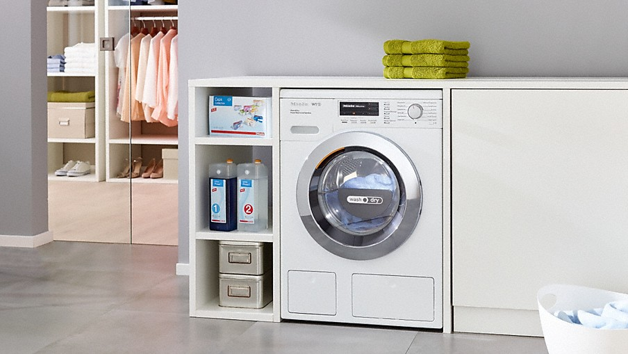 Výhody pračky se sušičkou Miele