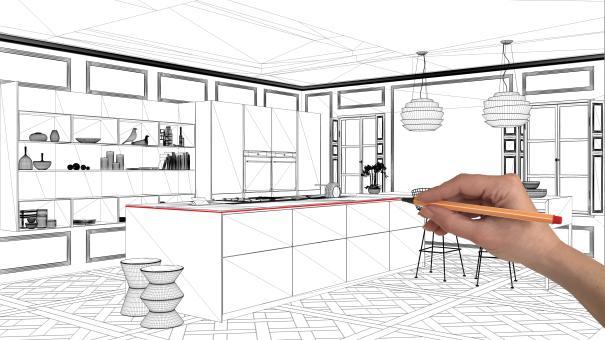 Schůzka s architektem, bytovým designerem či truhlářem